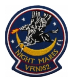Navy Vertical Night Fighter Squadron VF(N) 52 (Night Mares) Patch