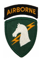 1st Special Operations Command Patch  with Tab