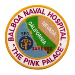 Naval Hospital Balboa (The Pink Palace) Patch