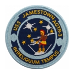 USS Jamestown AGTR-3 Ship Patch