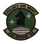 Air Force 31st Rescue Squadron Patch