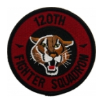 Air Force 120th Fighter Squadron Patch