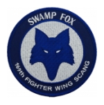 Air Force 169th Fighter Wing South Carolina Air National Guard (Swamp Fox) Patch