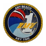 Navy Beachmaster Unit BMU-1 (Any Beach Any Time) Patch