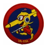 Navy Attack Squadron VA-53A Patch