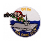 USS Sicily CVE -188 (Sea Going Sicily) Patch