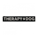 Therapy Dog Tab With Velcro Backing