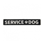 Service Dog Tab With Velcro Backing