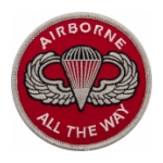 Airborne All The Way Patch