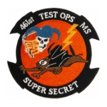 Air Force 461st Test Operations MS-X-35 Squadron Patch