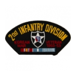 2nd Infantry Division Korean War Veteran Patch