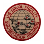Naval Facility San Salvador, Bahamas Patch