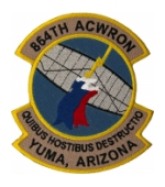 Air Force Aircraft Control And Warning Squadron Patches