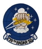 Air Force Radar Squadron Patches