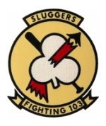 Navy Strike Fighter Squadron VFA-103 (Fighting 103 Sluggers) Patch