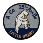 Army A Company 25th Aviation Battalion Patch