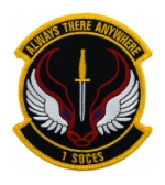 Air Force 1st Special Operations Civil Engineer Squadron Patch