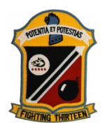 Navy Fighter Squadron VF-13 (Fighting Thirteen) Patch