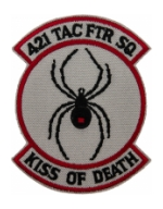 421st Tactical Fighter Squadron Patch