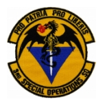 Air Force 3rd Special Operations Squadron Patch (With Velcro)