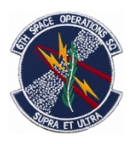 Air Force 6th Space Operations Squadron Patch ( With Hook Fastener )