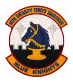 Air Force 66th Security Forces Squadron (Blue Knights) Patch