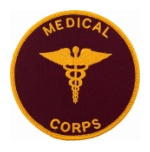 Medical Corps Round Patch