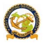 Navy Recruiting District Michigan Patch
