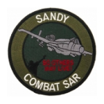 Air Force Fairchild Republic A-10 Thunderbolt II Combat Search & Rescue Patch