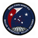 Air Force Communication Maintenance Patches