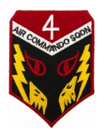 Air Force Air Commando Squadron Patches