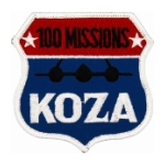Air Force SR-71 100 Missions Koza, Japan Patches
