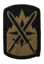 10th Sustainment Brigade Scorpion / OCP Patch With Hook Fastener