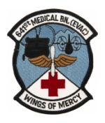 641st Medical Battalion (EVAC) Wings Of Mercy Patch