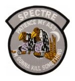 Air Force Spectre AC-130 (Patience My Ass) Vietnam Patch