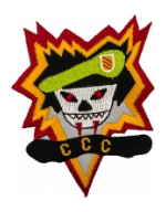 Special Forces Command Control Central CCC Patch