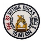 15th Military Intelligence Battalion (Sitting Ducks) Patch