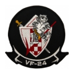 Navy Fighter Squadron VF-24 Patch