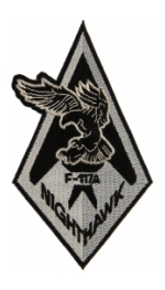 Air Force F-117A Nighthawk Patches