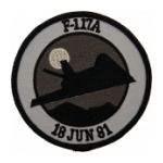 Air Force F-117A Stealth Fighter (18 June 81)  Patch