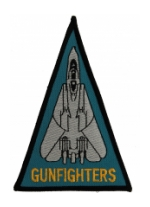 Navy Fighter Squadron VF-124 (GUNFIGHTERS) Triangle Patch
