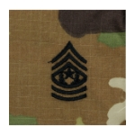 Army Scorpion Command Sergeant Major E-9 Rank Sew-On (Ufinished Edge)