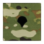 Army Scorpion Specialist Four E-4 Rank Sew-On (Unfinished Edge)