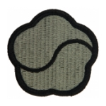 19th Support Command Patch Foliage Green (Velcro Backed)