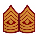 Marine Corps First Sergeant Sleeve Chevron (Male)