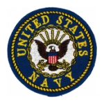 Navy Emblem Patch (Color)