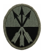 23rd Corps Patch Foliage Green (Velcro Backed)