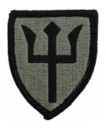 97th Regional Readiness Command (ARCOM) Patch Foliage Green (Velcro Backed)