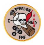 FMF 3rd Medical Battalion Patch