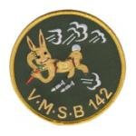 Scout Bombing Squadron Patch VMSB-142